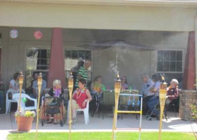 agape-manor-assisted-living-buffalo-wy-activities-luau